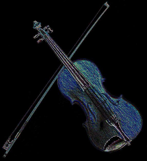 Colored Pencil fiddle