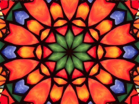 Tiffany kaleidoscope