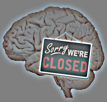 Closed mind